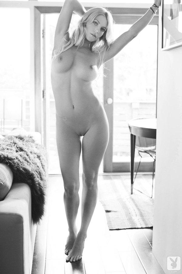 Zdjęcie porno - 058 - Czarno-biała blondyna