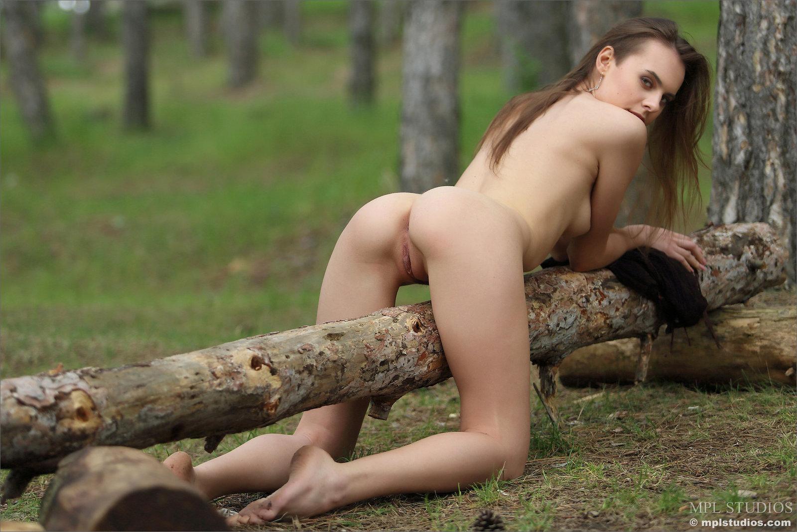 Zdjęcie porno - 145 - Przystrzyżona szparka w lesie