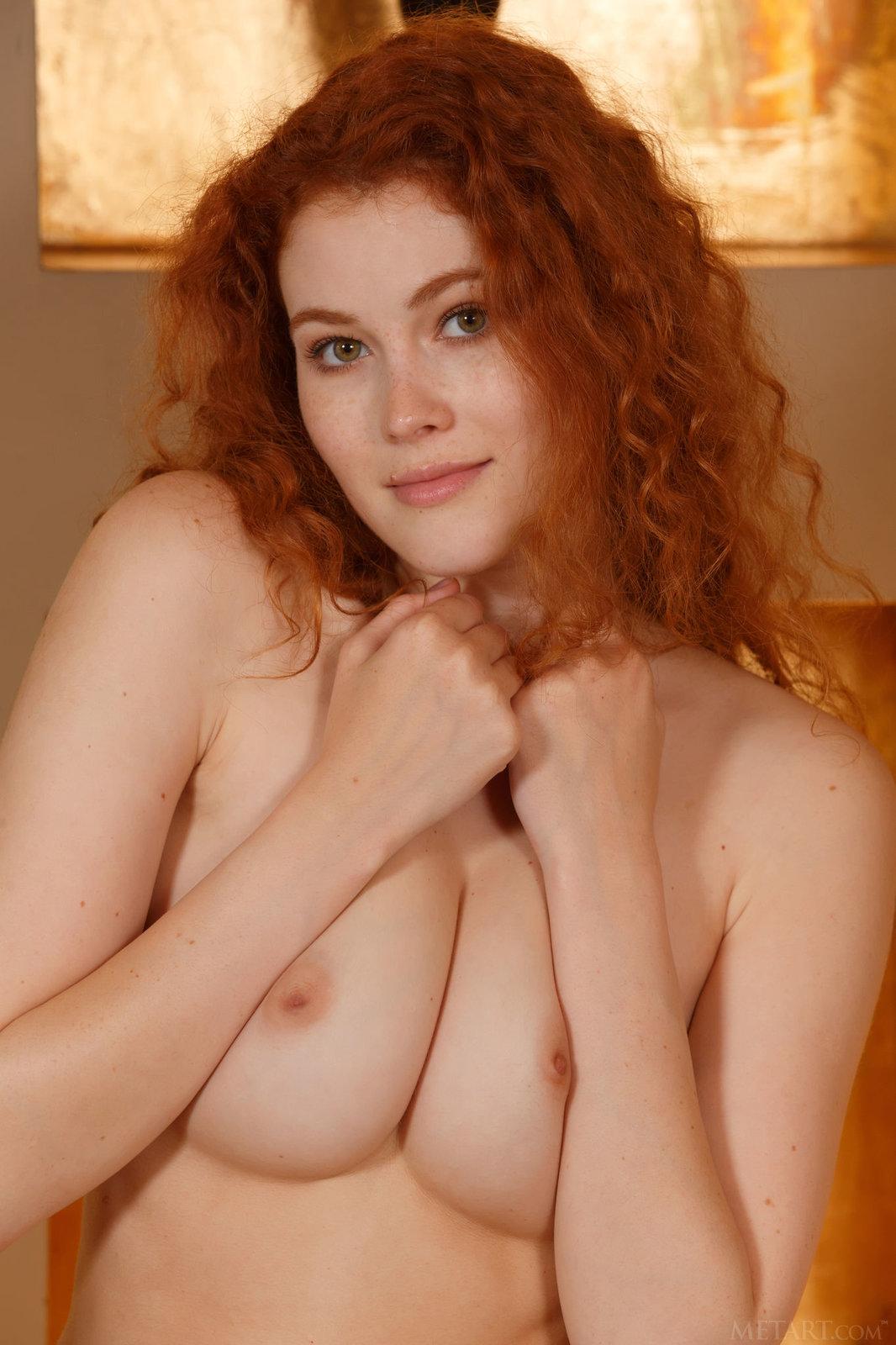 Zdjęcie porno - 098 - Kręcone rude włosy