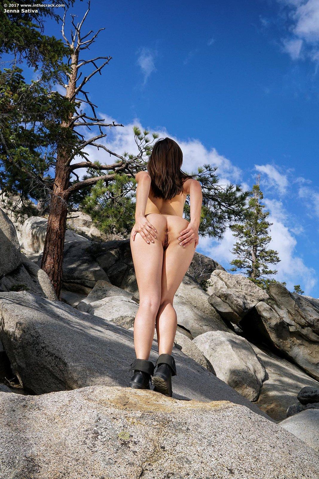 Zdjęcie porno - 1112 - Suczka na skale