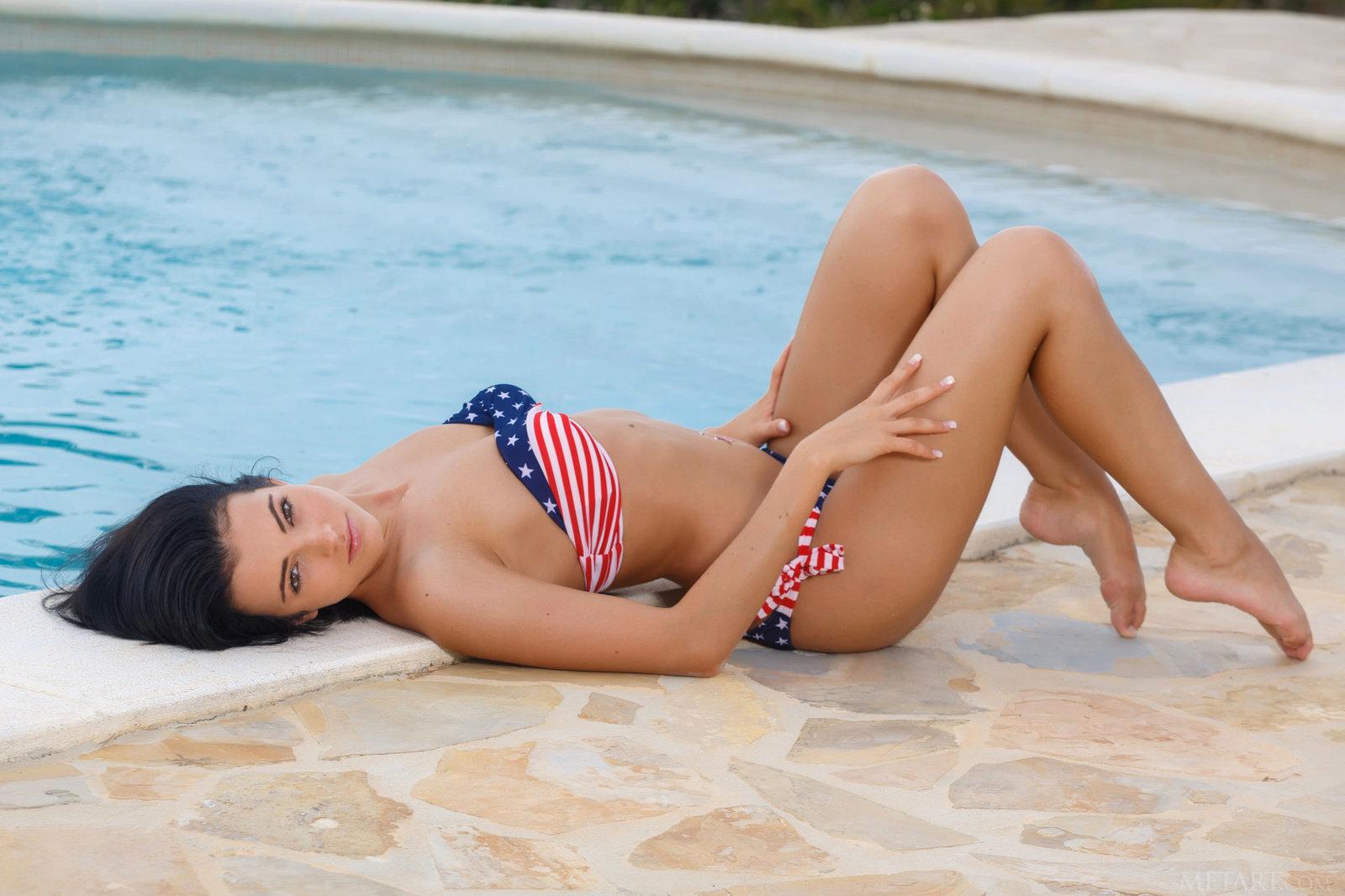 Zdjęcie porno - 08 1 - Seksowna patriotka