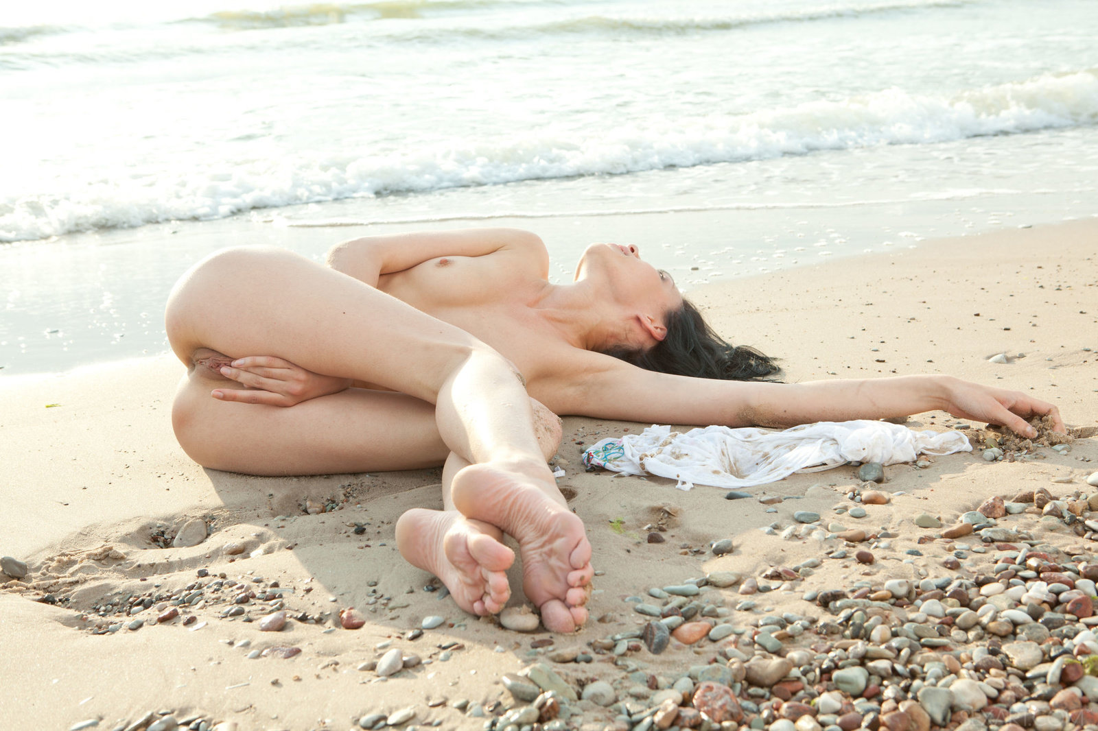 Zdjęcie porno - 10 5 - Masturbacja na plaży