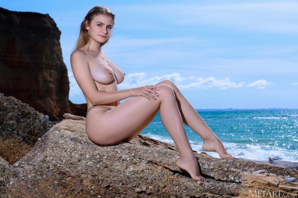 Zdjęcie porno - 09 2 1024x682 - Naturalna pani na plaży